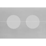 Verschlussetikett transparent