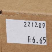 Etikett zu Preisauszeichner