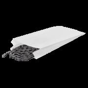 Papierfaltenbeutel weiß, aus Pergamin