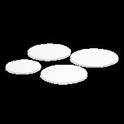 Tortenscheibe weiß