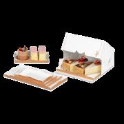 Tablett für Tortenstücke-Karton