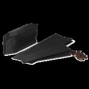 MECAVALVE Aromabeutel mit Seitenfalte & Ventil, schwarz matt