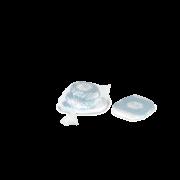 Seitenfaltenbeutel aus HDPE im Spenderbeutel