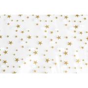 Bodenfaltenbeutel aus CPP mit Sternen