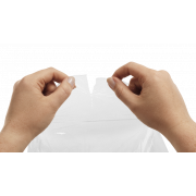Frischhaltefolie aus LDPE perforiert