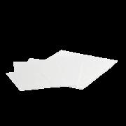 Zuschnitt aus HDPE weiß PAPERLIKE