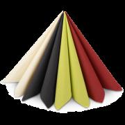 Zelltuch-Serviette farbig 40x40 cm, 1/4-Falz