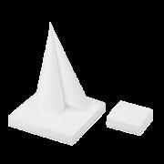 Airlaid-Serviette weiß