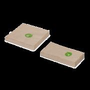 Zelltuch-Serviette braun