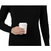 Heißgetränke-Becher «FRISCH & fein» doppelwandig