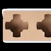 Tragehilfe für Becher aus Karton