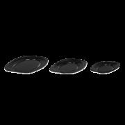 Servierplatte aus XPS, oval