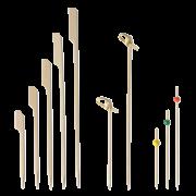 Bambus-Spieß