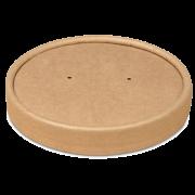 Deckel aus Pappe zu Pappbecher/Suppenbecher