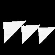 Spitztüte aus Pergamentersatz-Papier