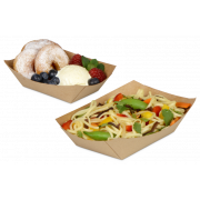 Snack-Schale braun