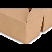 Mitnahmebox eckig braun 2-geteilt PREMIUM