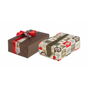 Geschenkpapier beidseitig bedruckt Midi-Rolle