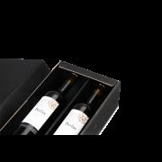 Flaschen-Geschenkkarton MERRY X-MAS