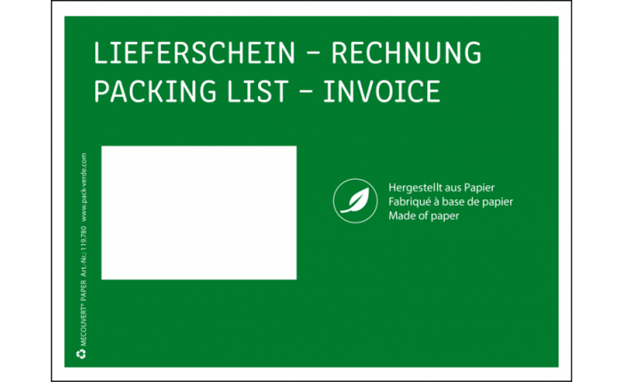 MECOUVERT® PAPER C5, 228×165 mm, grün
