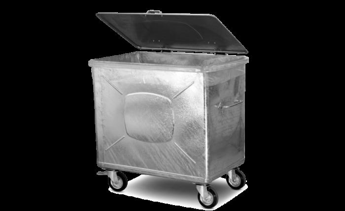 Abfallsack Großvolumen 950 l, 115×72×150 cm