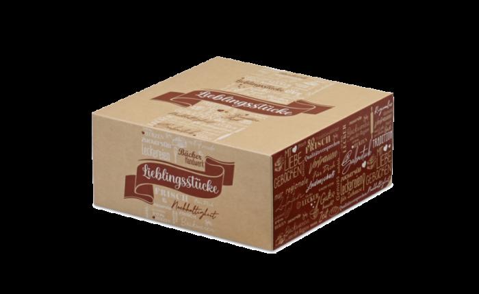 Tortenkarton, 220×220×100 mm