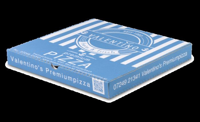 Pizza-Kartons bedrucken