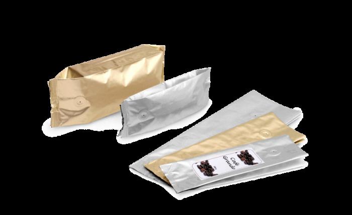 MECAVALVE Aromabeutel mit Seitenfalte & Ventil