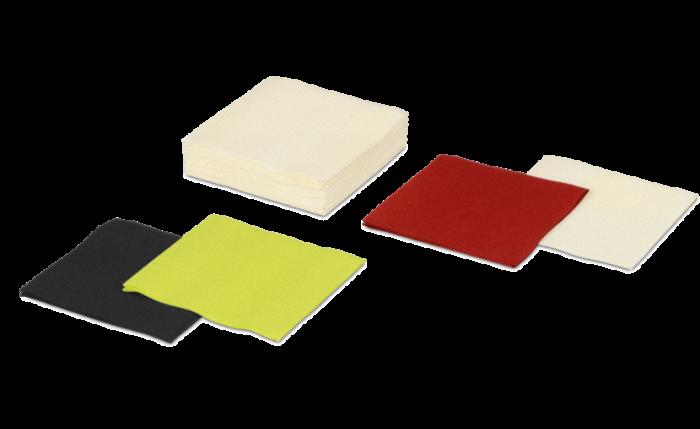 Airlaid-Serviette farbig