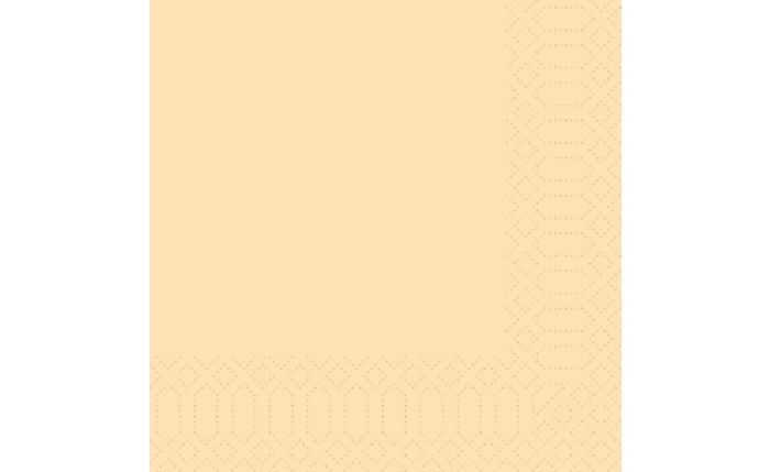 Zelltuch-Serviette 33×33 cm, crème