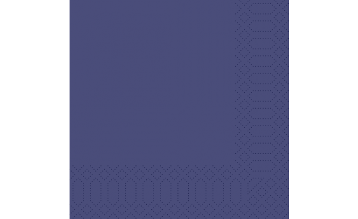 Zelltuch-Serviette 33×33 cm, dunkelblau