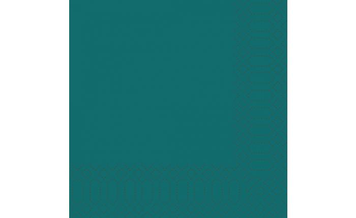 Zelltuch-Serviette 33×33 cm, ocean teal