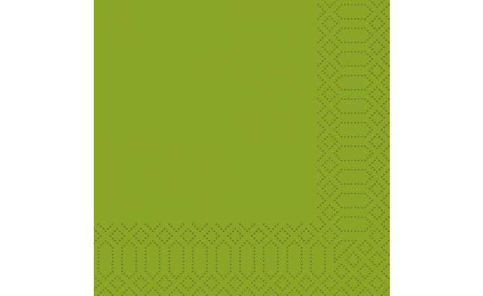 Zelltuch-Serviette 33×33 cm, leaf green