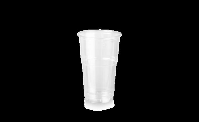 rPET Clear Cup, 12 oz/0,300 l, Ø 78 mm