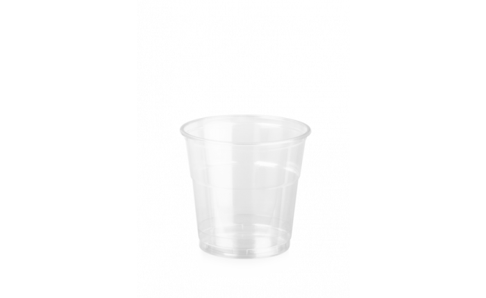 rPET Clear Cup, 12 oz/0,300 l, Ø 95 mm