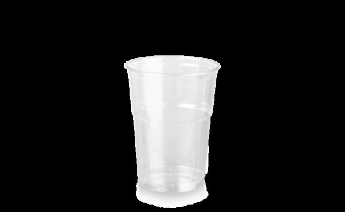 rPET Clear Cup, 16 oz/0,400 l, Ø 95 mm