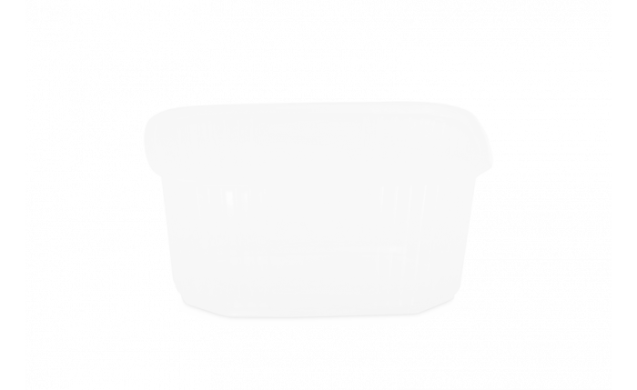 PP-Rechteckbecher ohne Deckel 250 ml/200 g