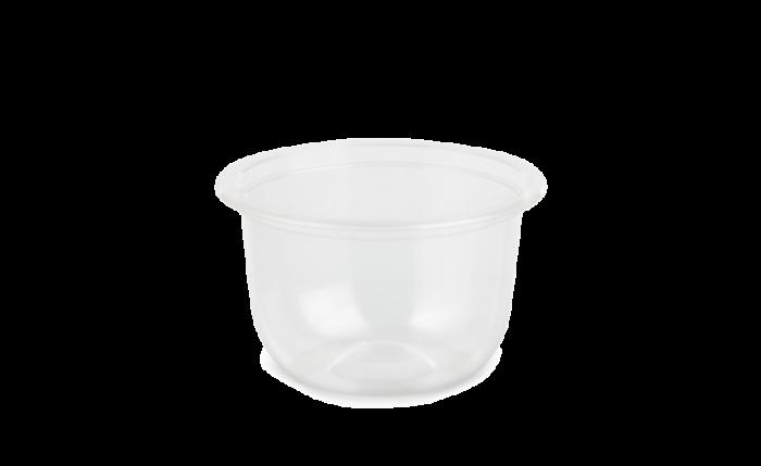 Dressingbecher aus rPET 100 ml, Ø 76 mm