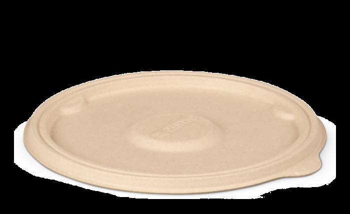 Bagasse-Deckel, Ø 177xH 7 mm
