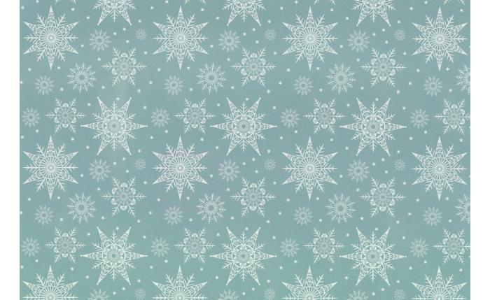 Geschenkpapier-Großrolle, silber/Sterne