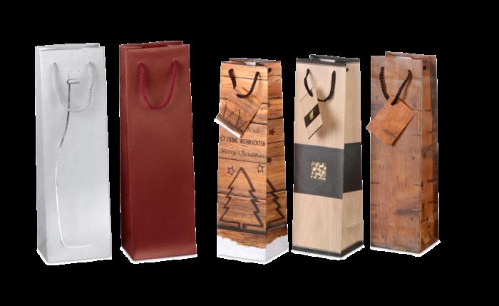 Flaschen-Geschenktasche