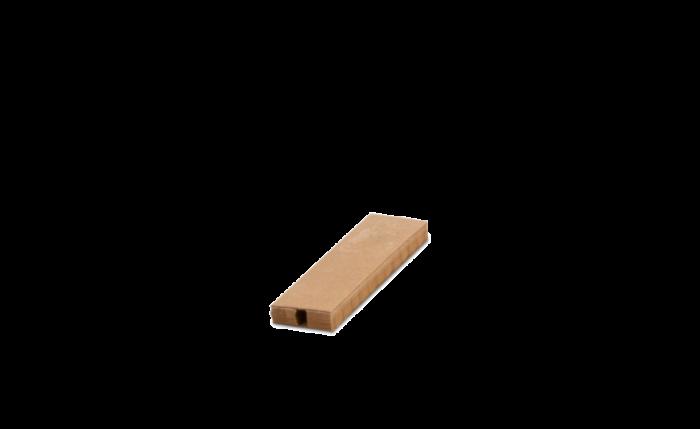 ELASTPACK Papierwaben-Schutzhülle braun L 10 cm