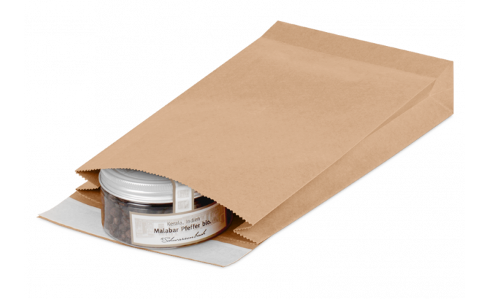 Geschenkbeutel aus Kraftpapier M, 250×50×353 mm