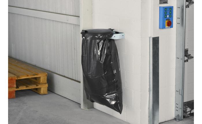 Abfallsammler Wandkonsole