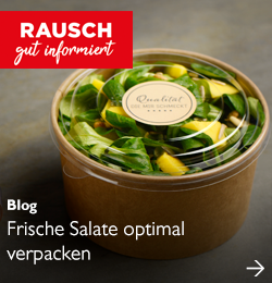 Frische Salate optimal verpacken