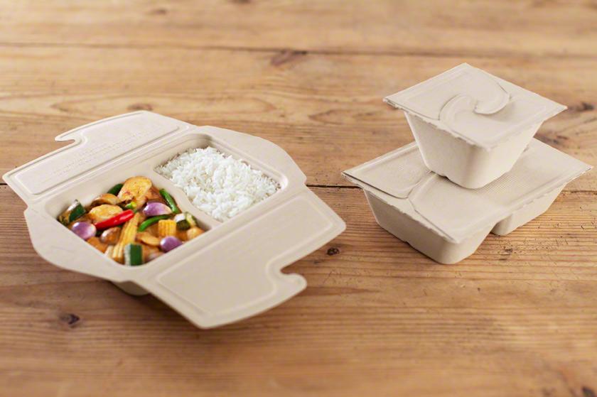 Zellstoff-Box für Take-away