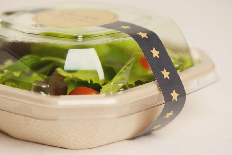 Etikett Salatschale Rausch Verpackung