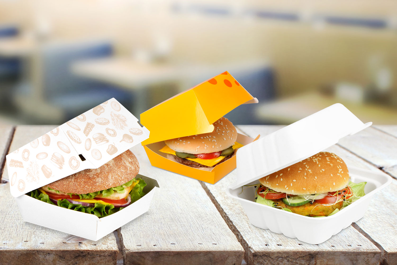 Burger-Auswahl
