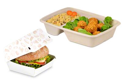 Verpackungen für warme Speisen