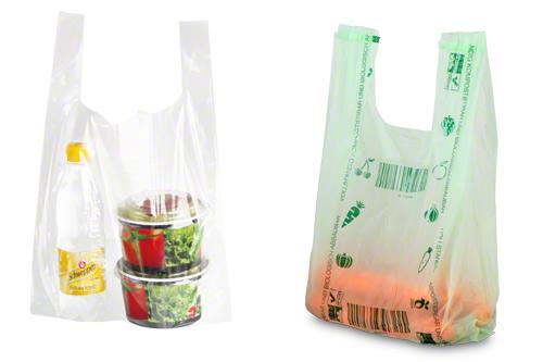 Kunststoff-Tragetaschen